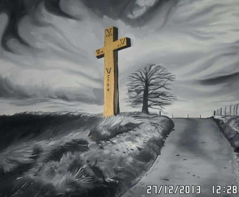 chemin de croix by guillaume cabouat