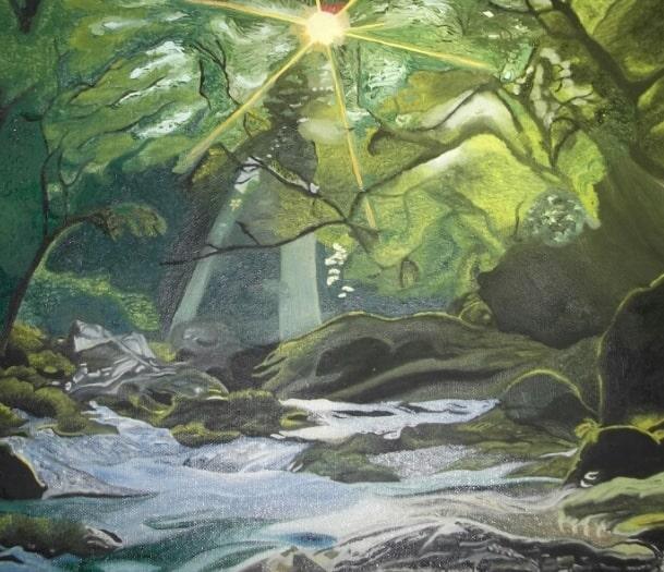 rivière ensoleillée by guillaume cabouat