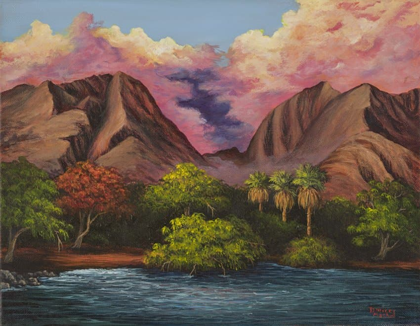 Olowalu by Hawaiian Painter Darice Machel McGuire