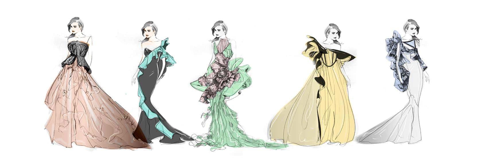 5 girls, Interview with upcoming Fashion Designer Nancy Gubbala