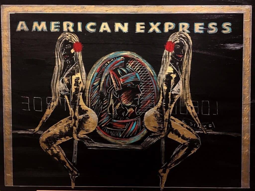 American express by Gilda Garza
