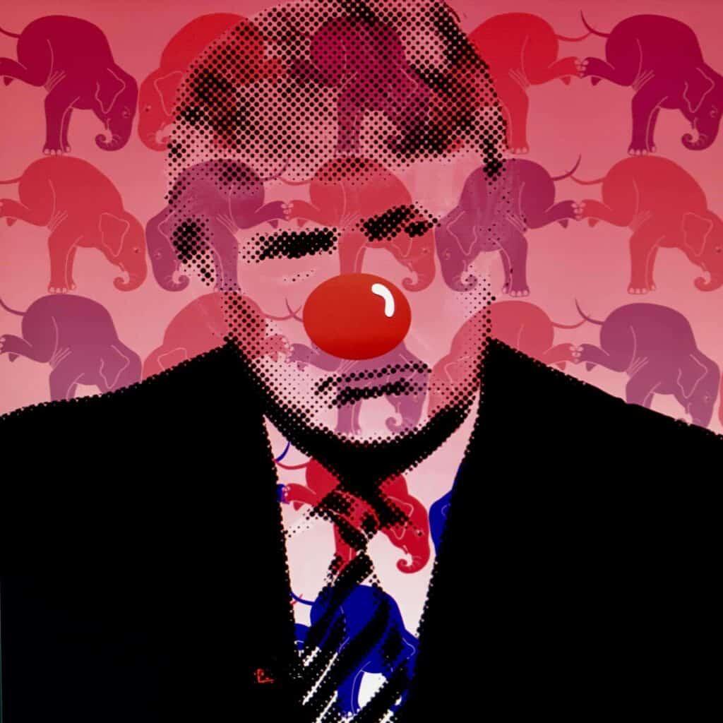 A Triumphant Clown by Mr. Clever Art