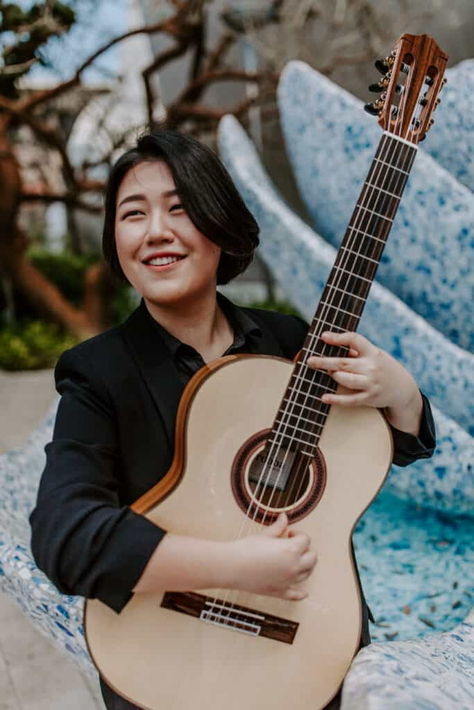 Korean guitarist Bokyung Byun