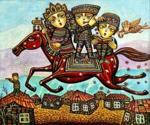 Childhood Dream by Armenian Painter Sevada Grigoryan