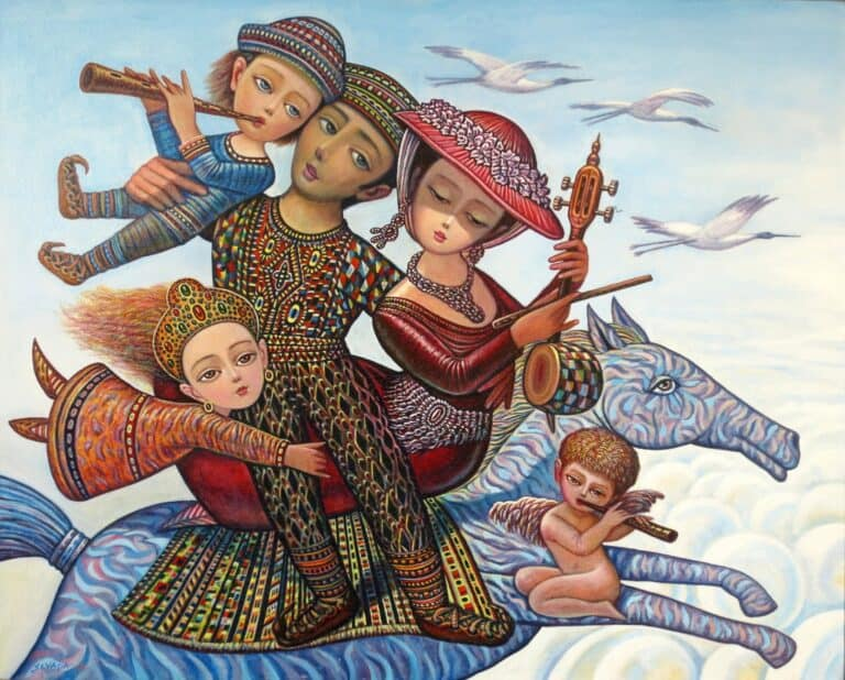 Toward Homeland by Armenian Painter Sevada Grigoryan