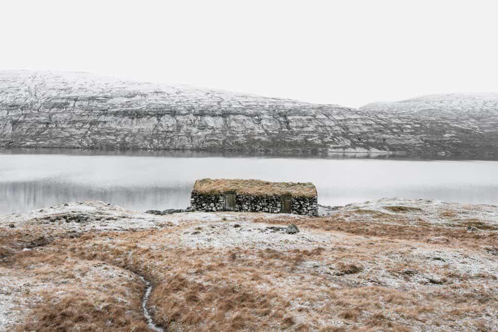 Boat House, Faroe Islands, 2020 by Photographer Gonçalo Duarte Pacheco