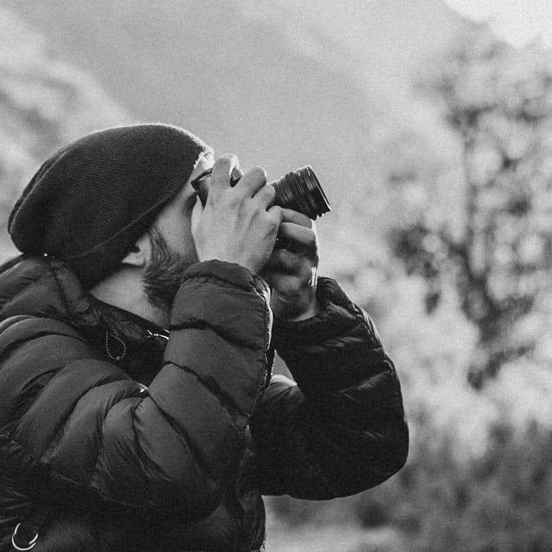 Portrait of Photographer Gonçalo Duarte Pacheco
