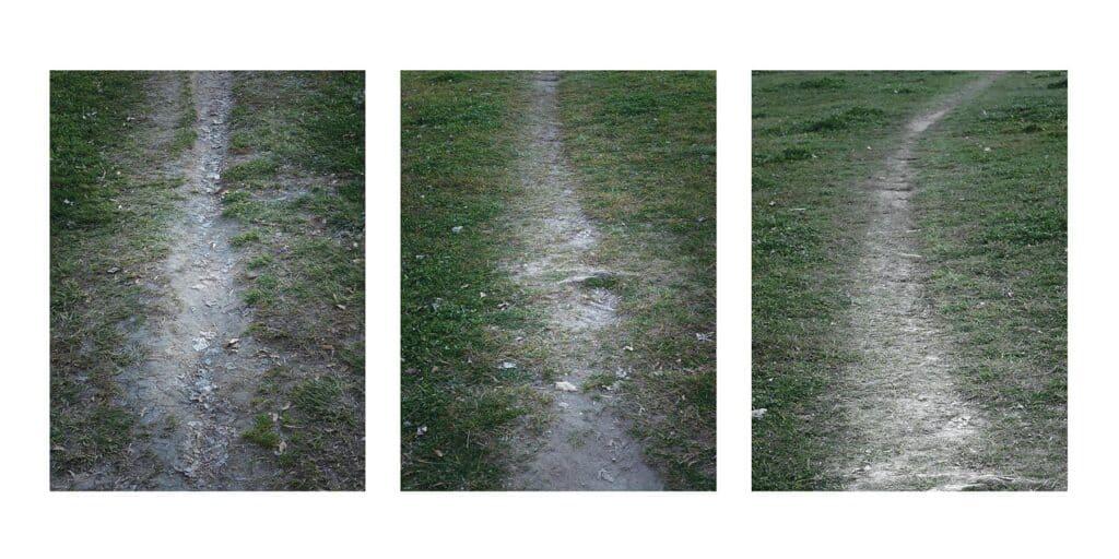 Spontaneous Paths variations , Bairro da Malagueira, 2018 by Photographer Gonçalo Duarte Pacheco