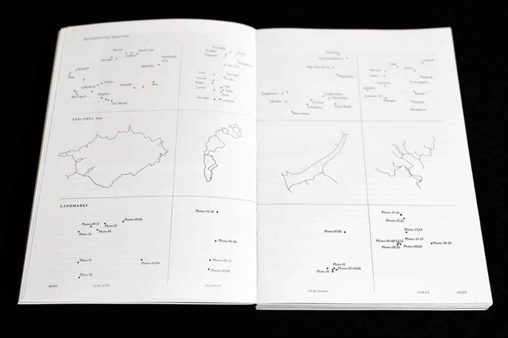 Travel Diagrams, Iceland l Norway l Svalbard l Faroe Islands, 2020 (1) by Photographer Gonçalo Duarte Pacheco